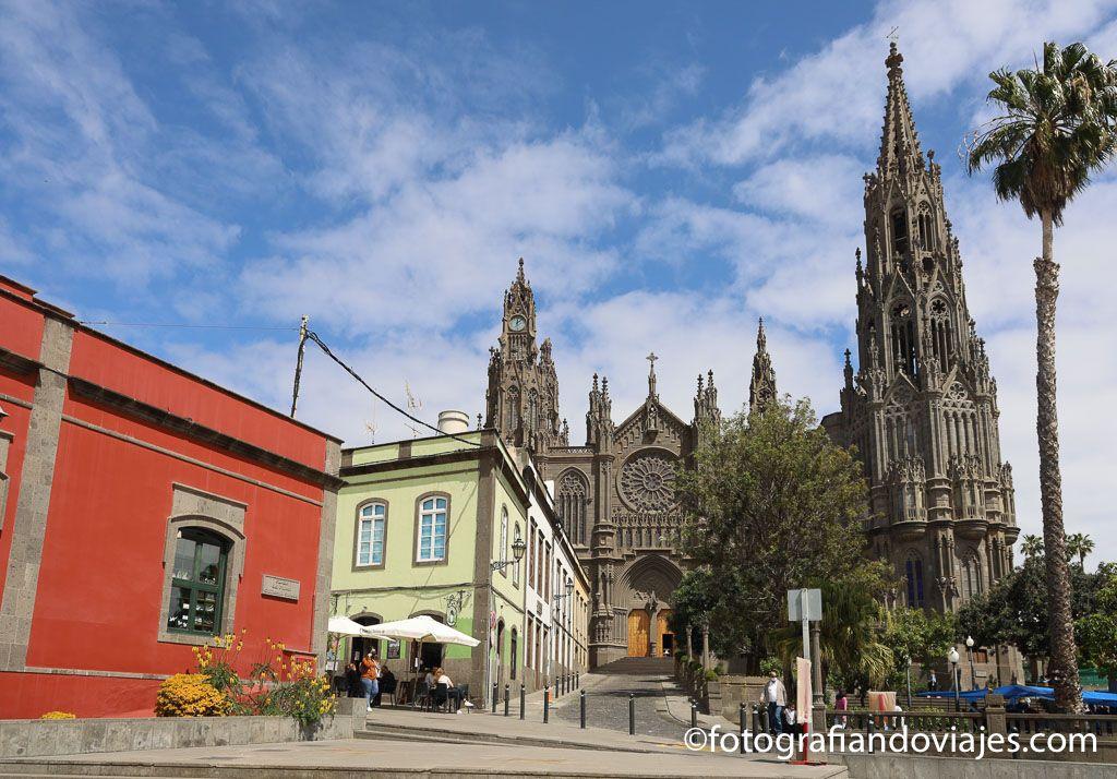 iglesia de San Juan Bautista que ver en Arucas gran canaria