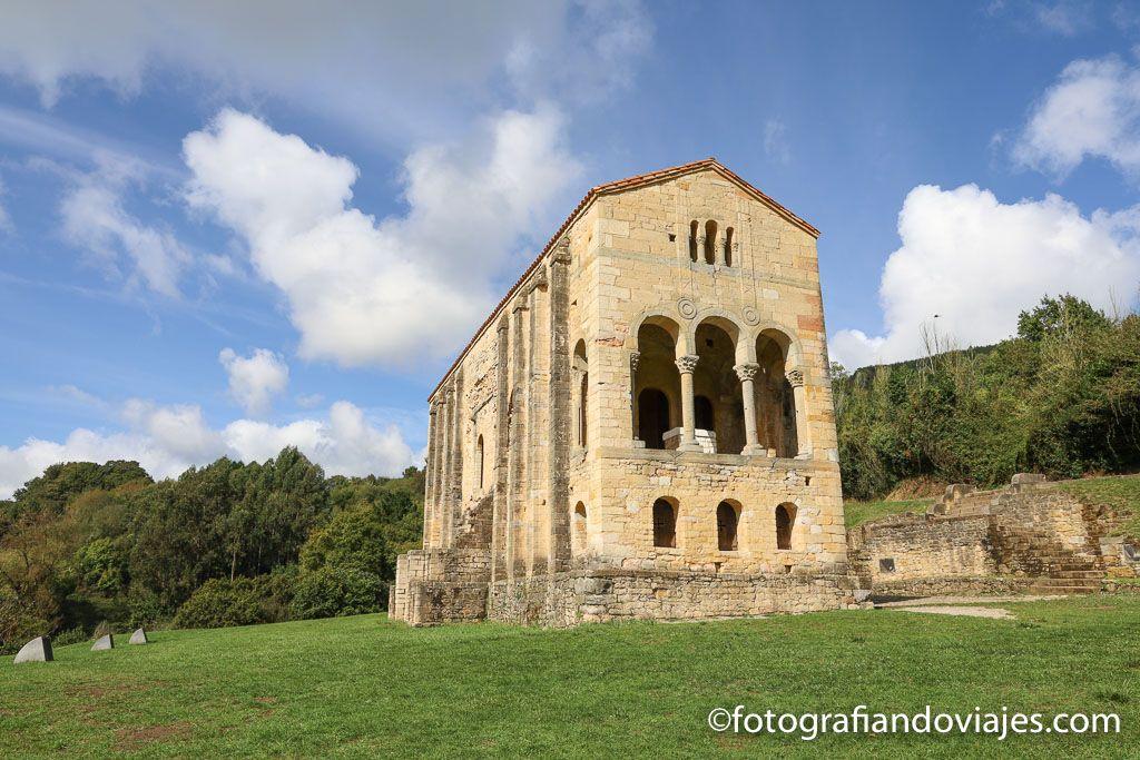 Iglesia Santa Maria del Naranco arte preromanico asturias