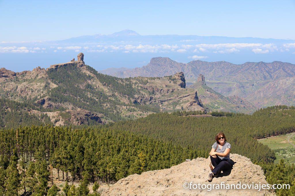 Mirador Pico Las Nieves en el interior de Gran Canaria