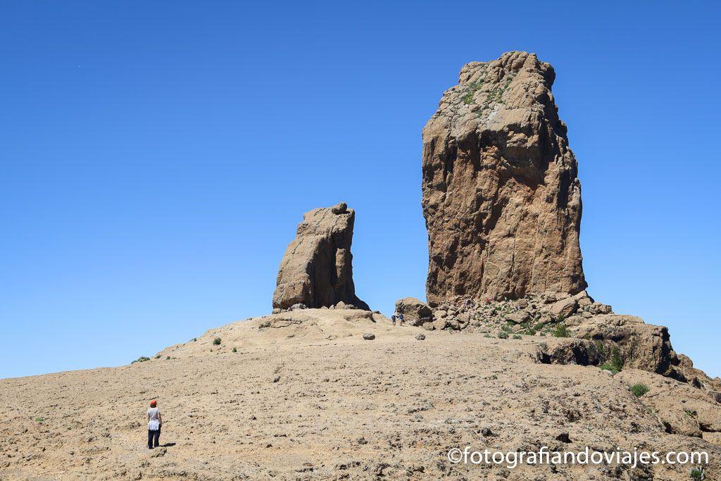 Roque Nublo interior Gran Canaria