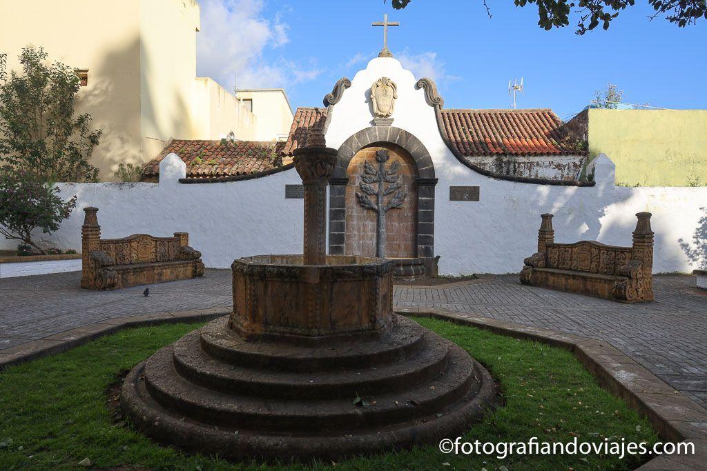 plaza Teresa de Bolivar en teror