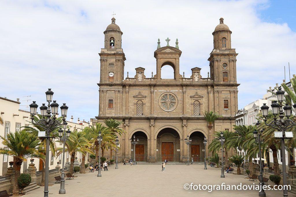 catedral plaza santa ana las palmas de gran canaria