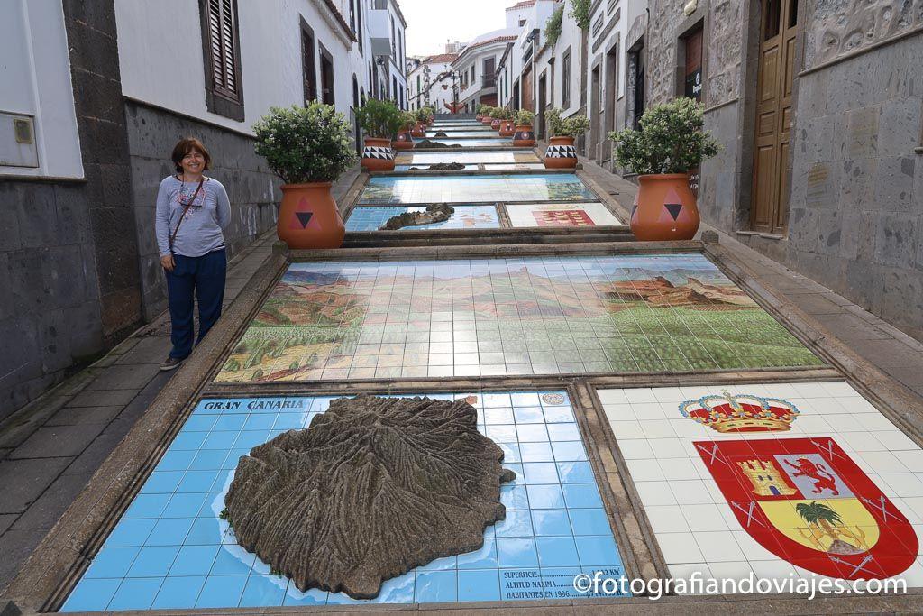 que ver en Firgas paseo de Canarias
