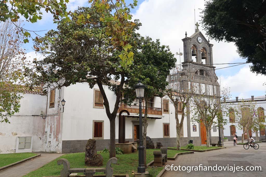Iglesia de San Roque en Firgas