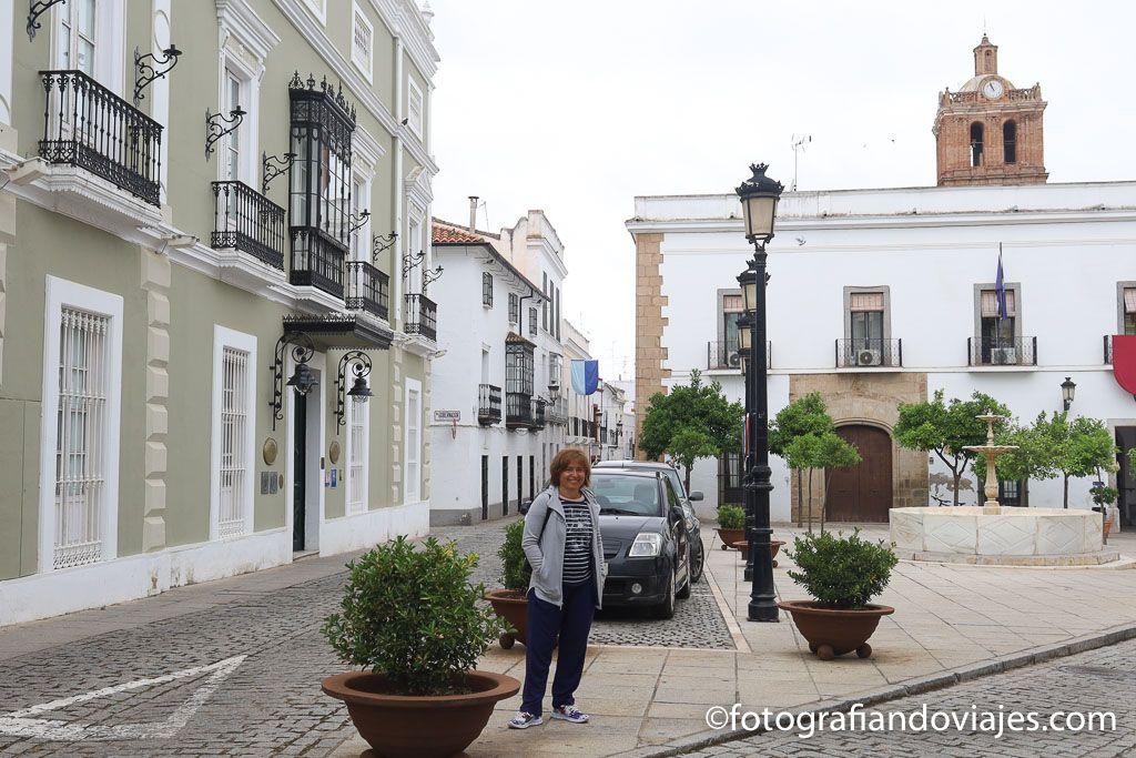 Plaza del Pilar Redondo zafra