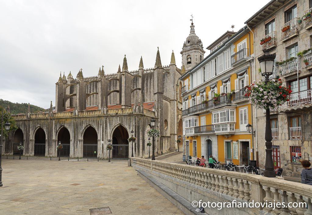 Lekeitio basilica de la Asuncion de Santa Maria