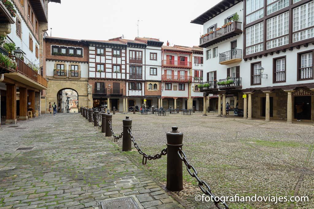 Plaza guipuzcoa hondarria