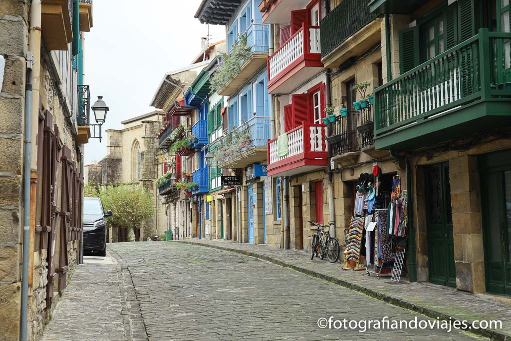calle san nicolas hondarria
