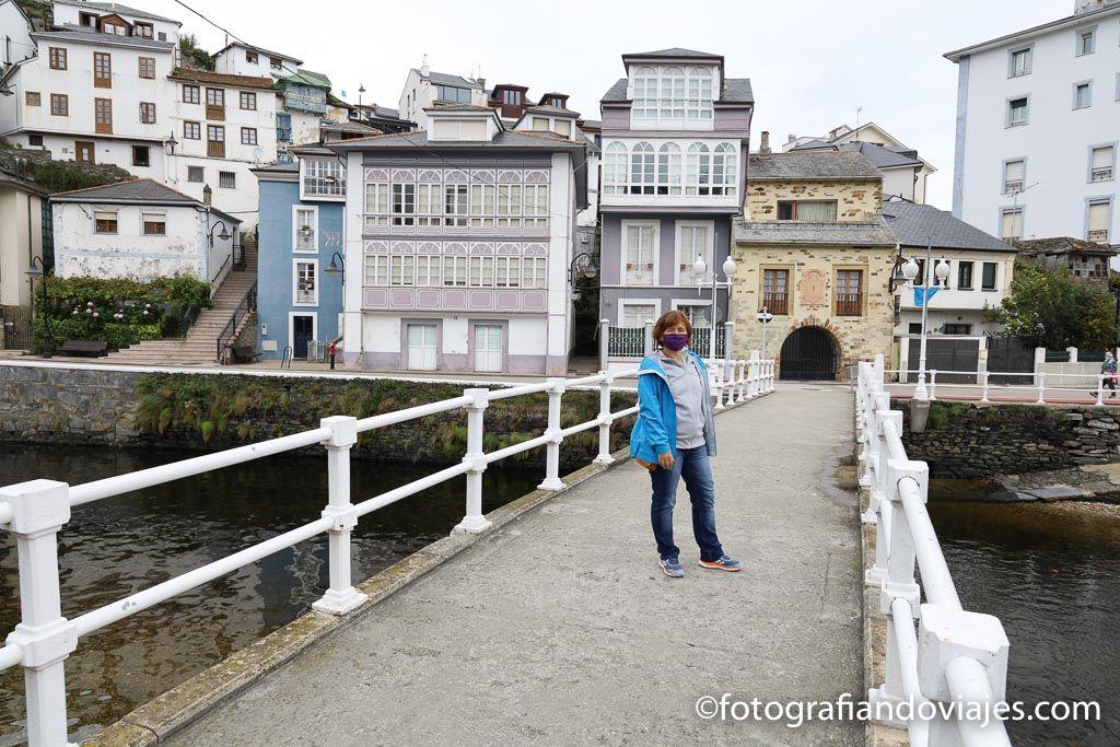 Puente del beso ver luarca
